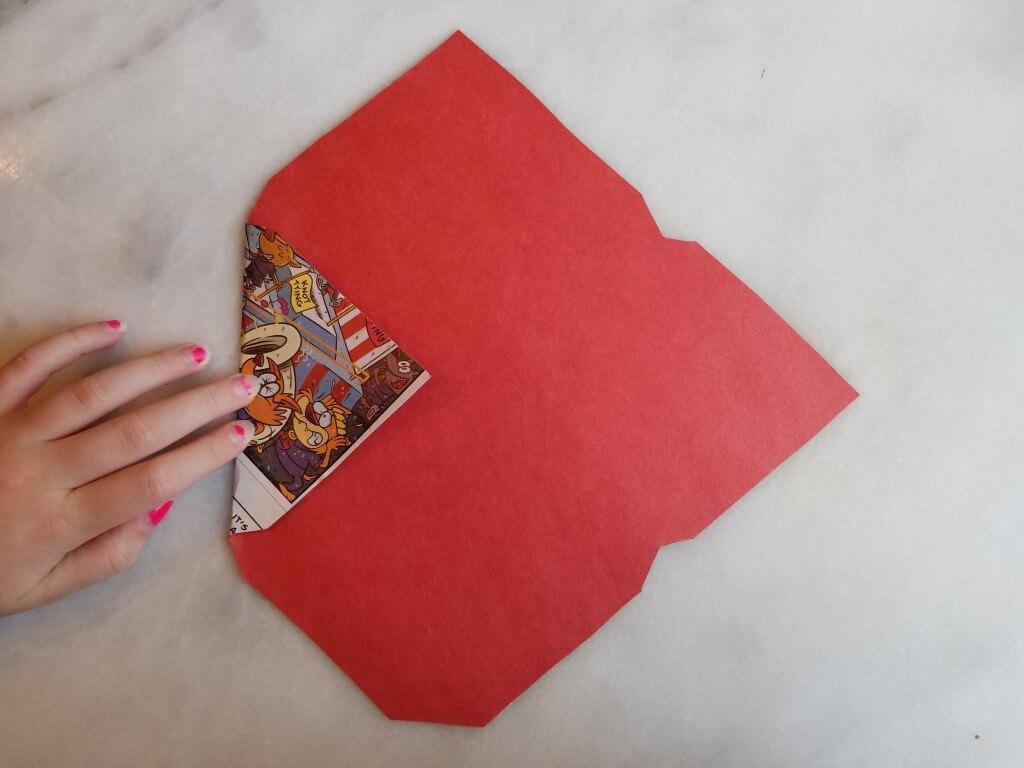 how to make envelopes: step 1