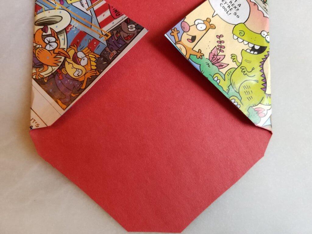 how to make envelopes: step 3