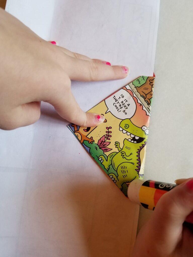 how to make envelopes: step 5