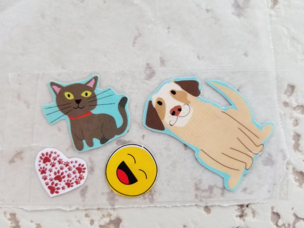 how to make stickers with tape