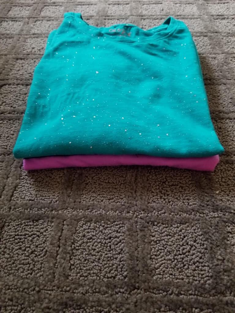 perfectly folded shirts