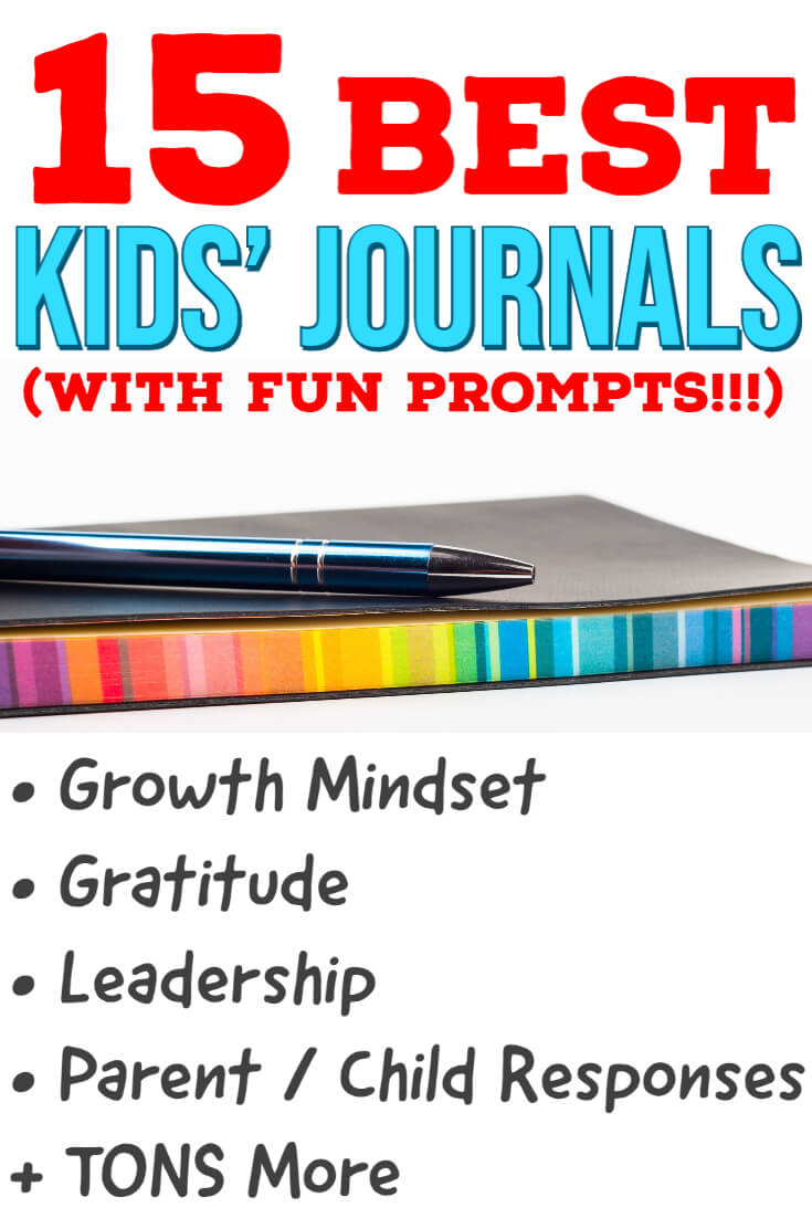 15 Best Journals for Kids with fun prompts