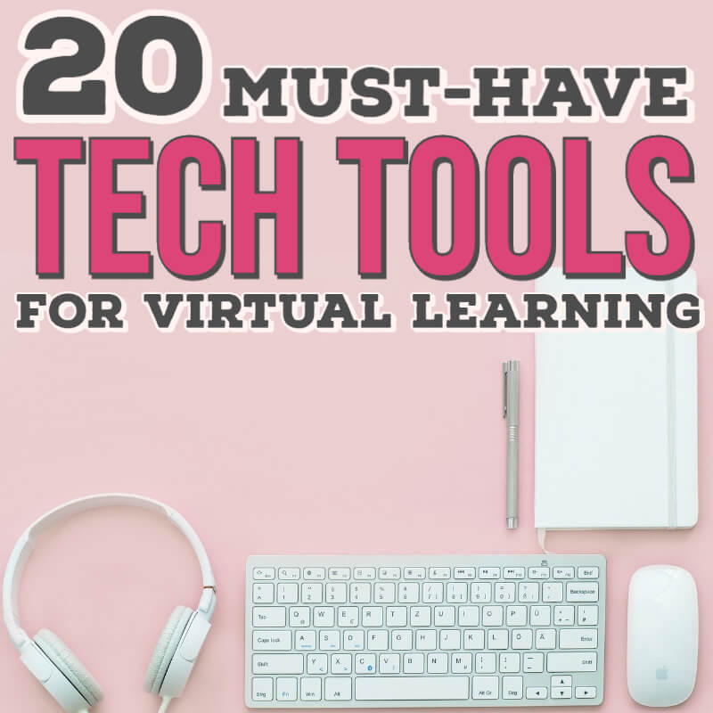 20 Must-Have Tech Gadgets for Virtual Learning