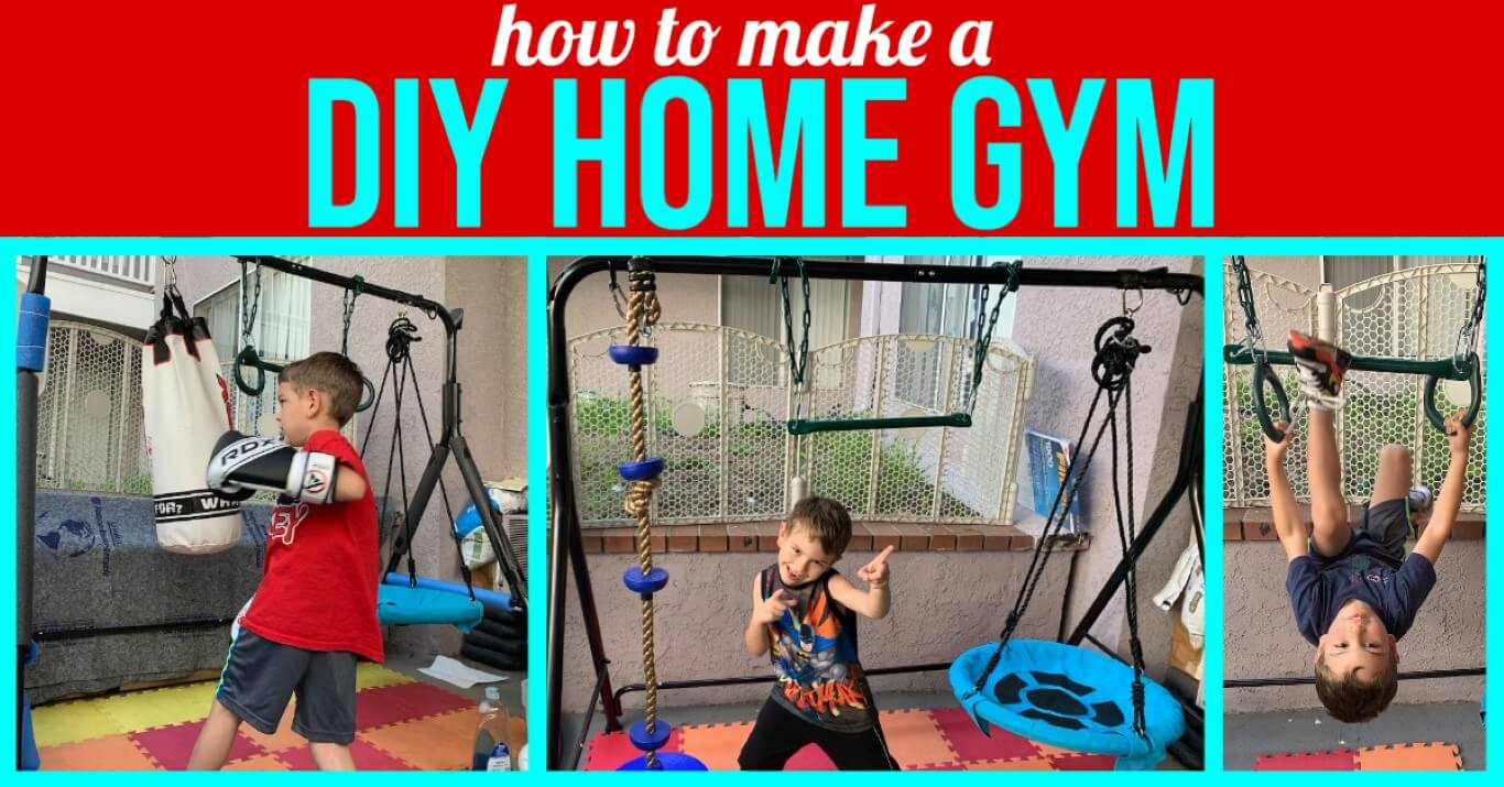 DIY Home Gym for Kids