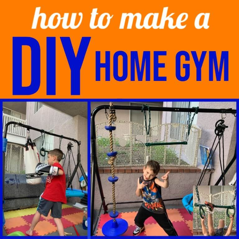 DIY Sensory Gym for Kids