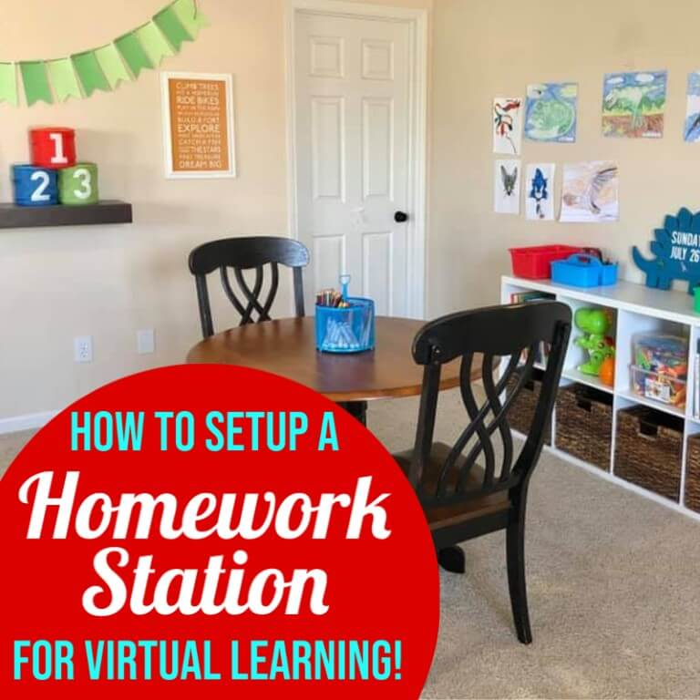 How to Setup a Homework Station for Distance Learning