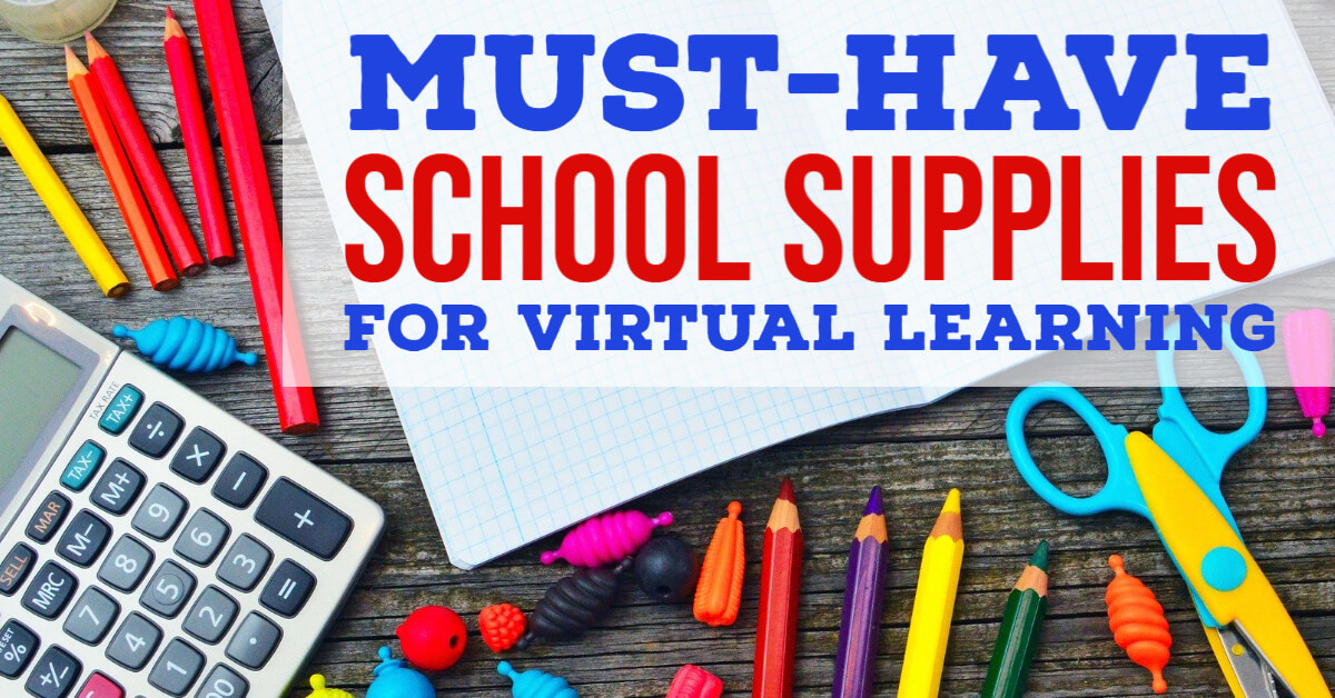 Online School Supplies List