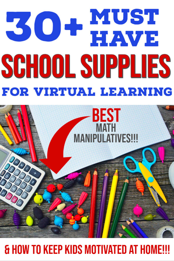 Online School Supplies List_ Virtual Learning or Homework Station (1)