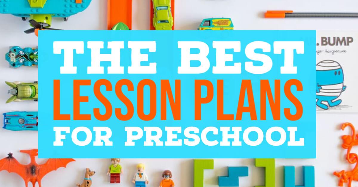 best preschool lesson plans