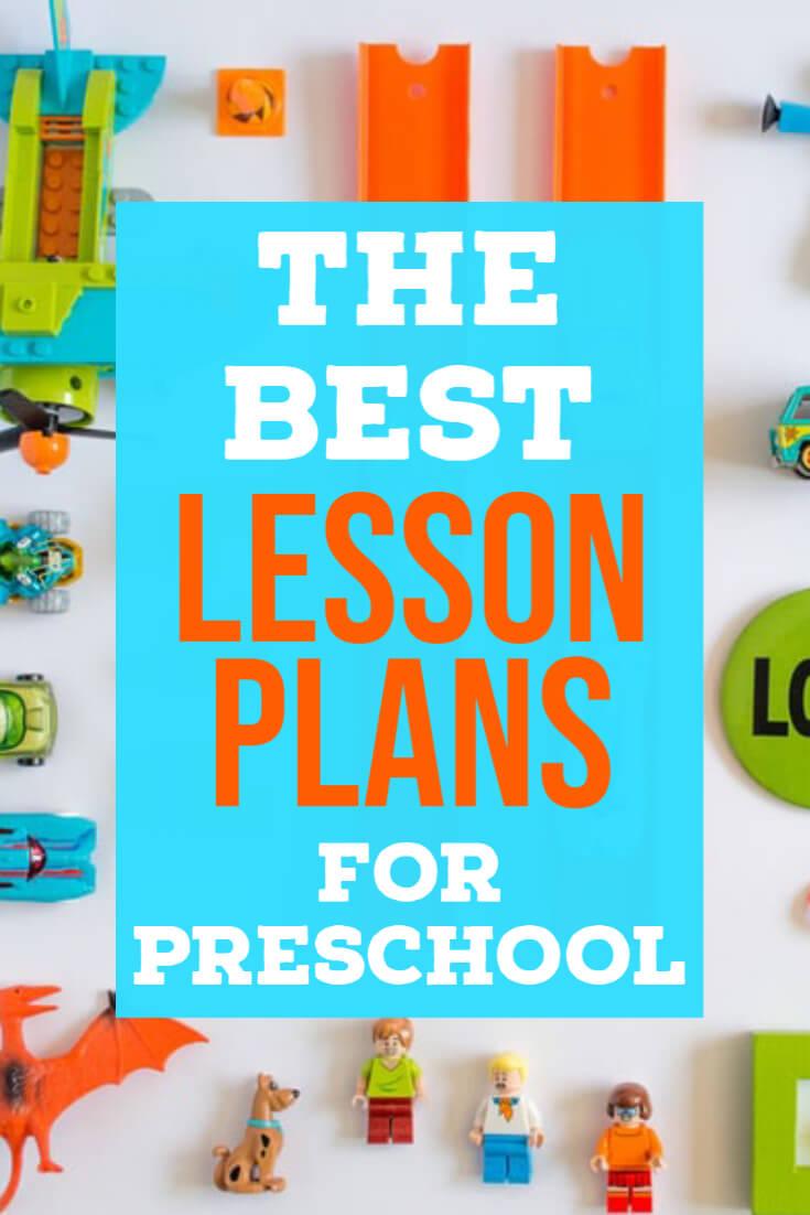 preschool lesson plans