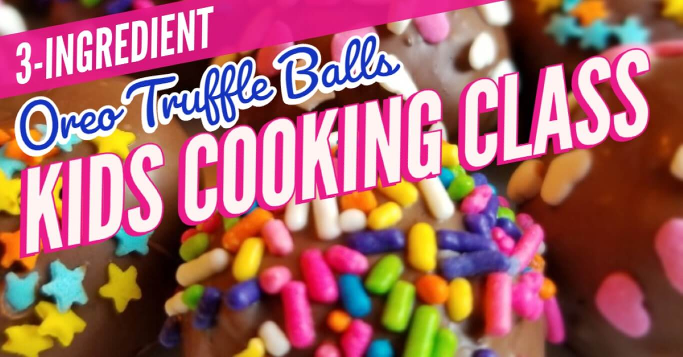 recipe for OREO balls with 3 ingredients