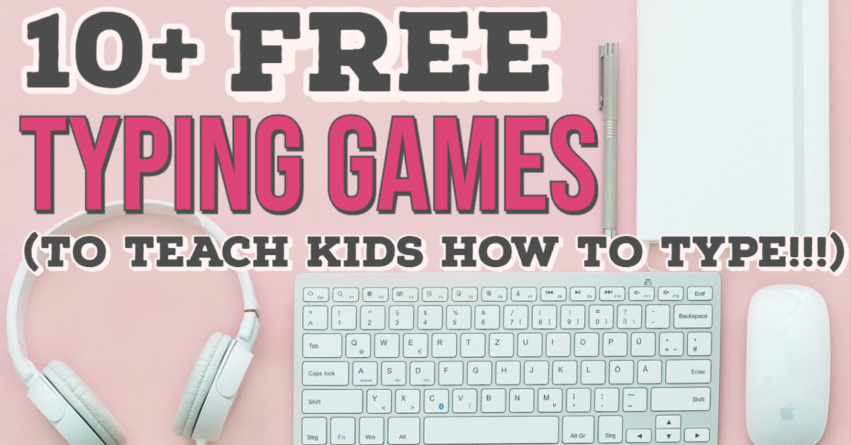 Free Typing Games for Kids
