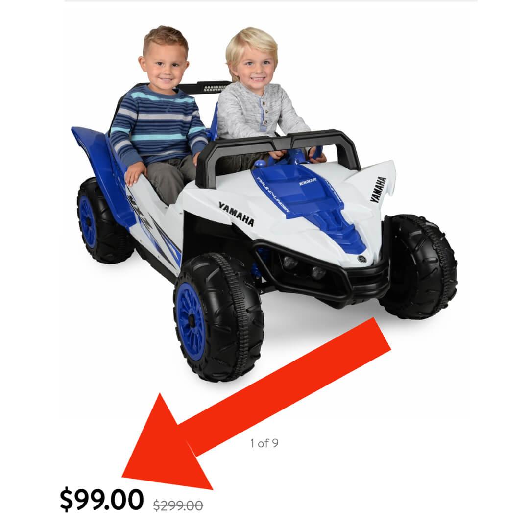 Yamaha Ride-On Walmart Deal